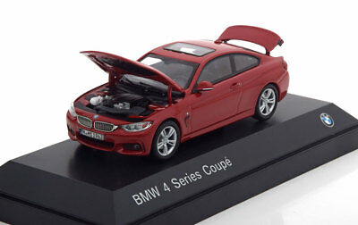 Bmw 4Er 3.8I Series Coupe F32 2013 Red Metal I-Scale 80422318860 1/43 Rot Rosso