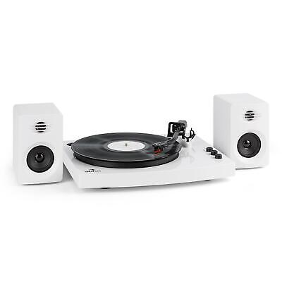 Schall Plattenspieler Turntable Bluetooth 4.2 Stereolautsprecher 33 & 45 U/min