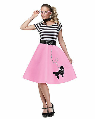 50s Soda Shop Sweetie - Adult - Costume Poodle Skirt