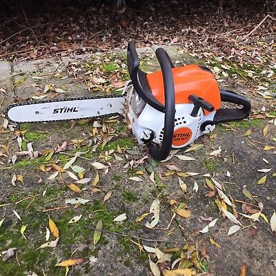 STIHL CHAINSAW MS 181C.FOR PARTS NOT WORKING.!!!!i dont no if it works