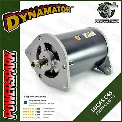 45 Amp positive earth dynamo conversion dynamator to replace Lucas C45