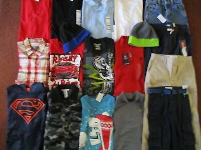 Boys FALL WINTER Size 7 Lot CLOTHES & OUTFITS  TCP Old Navy Chaps Levi's