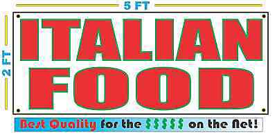 CUSTOM NAME PIZZA Banner Sign NEW Larger Size Best Quality for the $$$