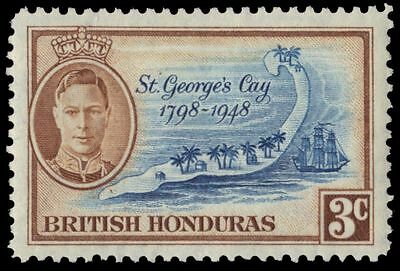 BRITISH HONDURAS 132 (SG167) - Battle of St. George's Cay (pa87999)