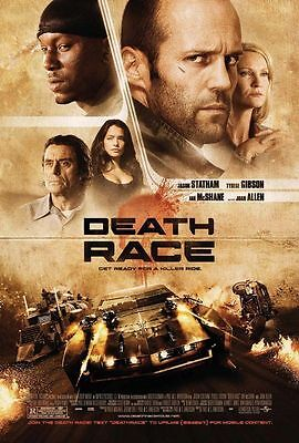 Death Race Original D/S Rolled Movie Poster 27x40 NEW 2008 Jason Statham  Gibson