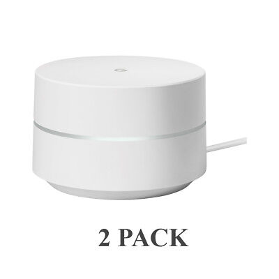 2-Pack Google Wifi AC1200 Replacement Router for Whole Home Coverage