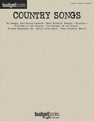 THE 80S COUNTRY Piano Sheet Music Guitar Chords Lyrics 40 Songs Book ...