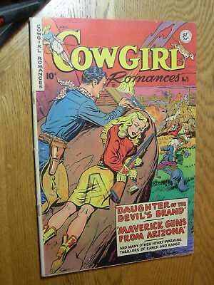 Cowgirl Romances #3 G/VG GGA Daughter of the Devil's Brand