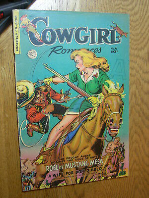 Cowgirl Romances #6 VG+ GGA She fought alone