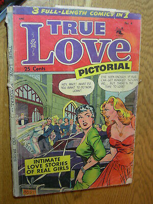 True Love Pictorial #4 PR Giant Matt Baker NBC and incomplete
