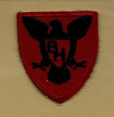 "Original Ww2 Us Army 86Th Infantry ""black Hawk""  Division Patch"