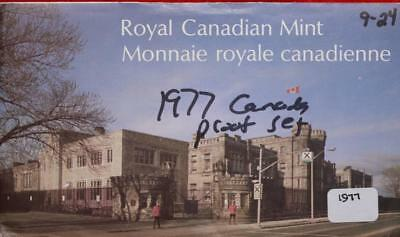 Uncirculated 1977 Canada Proof Set Free S/H