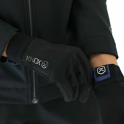 Knox Cold Killers Motorcycle Bike Windproof Blue Collection Under Gloves