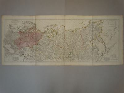 Russland Russia Asien Asia Siberia - Kupferstich engraving map Karte Sayer 1772