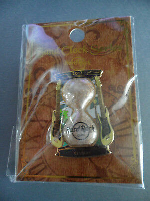 Hard Rock Cafe Seville Spain - Sand Clock - Hourglass Time Series Pin on Card