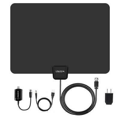 1080P 100Miles 25dB HD Digital Indoor HDTV TV Antenna with Amplified VHF UHF