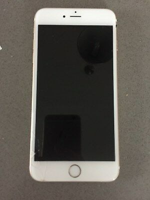 FAULTY APPLE iPHONE 6S PLUS , 64GB, LOCKED TO O2 UK, GOLD,BOOTING ERROR, CRACKED