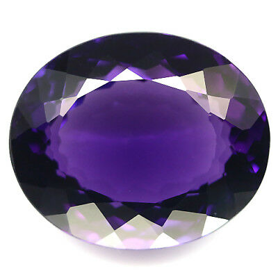32.70 Ct Aaa! Purple Clr Change To Pink Amethyst Oval Brazilian Delightful