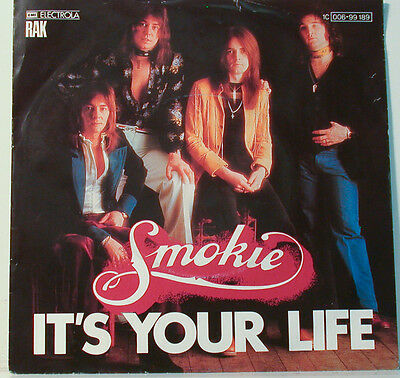 """Smokie It´s Your Life - Now You Think You Know- Electrola [F282] 7 """" Singles"""