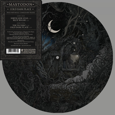 MASTODON COLD DARK PLACE PICTURE DISC VINYL EP (New Release 17/11/2017)