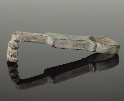 ANCIENT ROMAN BRONZE KEY - CIRCA 2nd Century AD   02