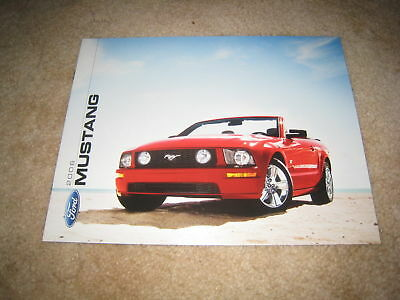 2006 Ford Mustang V6 GT auto show sales brochure literature 8 page