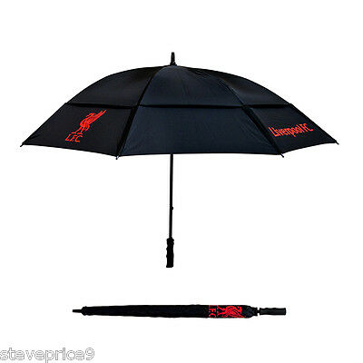 Brand New Liverpool Fc Double Canopy Golf Umbrella.