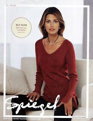Spiegel 2002 Fall Catalog->Elsa Benitez cover