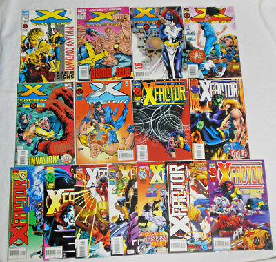 X-FACTOR #106-120 * Marvel Comics Lot * 15 Comics - X-Men - Set Run