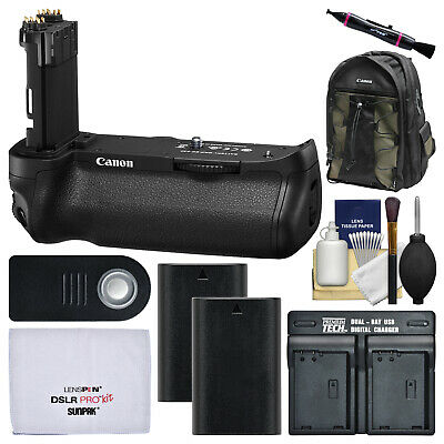 Canon BG-E20 LP-E6N Battery Grip Kit for EOS 5D Mark IV Digital SLR Camera