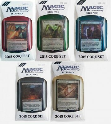 2015 Intro Pack englisch - MtG Deck Preconstructed Magic the Gathering Deck