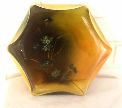 Great Nineteenth Century Rookwood Tray Wonderful Hand Painted Floral