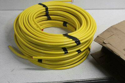 """Lot of 5 1/2""""OD 50'ft MUELLER DY08050 Yellow Coated Copper Coil Gas Shield"""