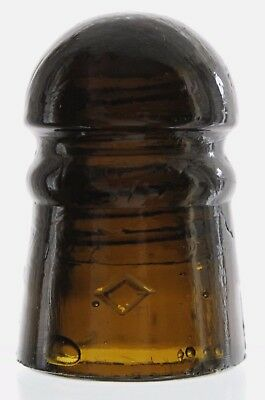 Amber Cd 102 Diamond #13 Pony Insulator