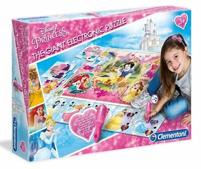 Clementoni GIANT ELECTRONIC FLOOR GAME Interactive Puzzle MAT - DISNEY PRINCESS