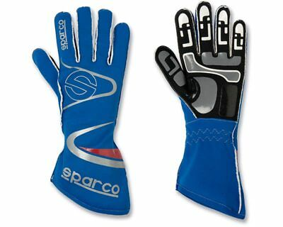 Sparco Arrow-K Blue Racing Gloves Handschuhe - Size Small / 9 - For Kart, Moto b