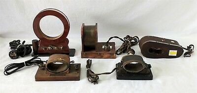 Antique WATCH DEMAGNETIZERS / Lot of 5 from great collection