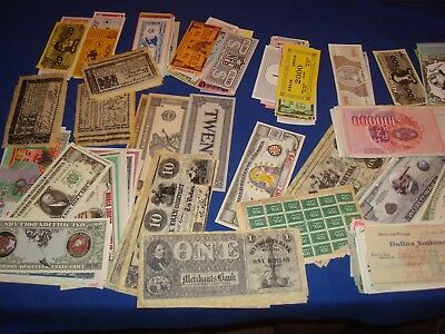Ephemera Lot, Game & Play Money, Foreign Notes, Reproductions, Novelty Notes
