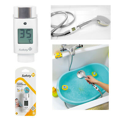 Baby Digital Shower Head Temperature Tester Thermometer Waterproof LCD Safety 1s