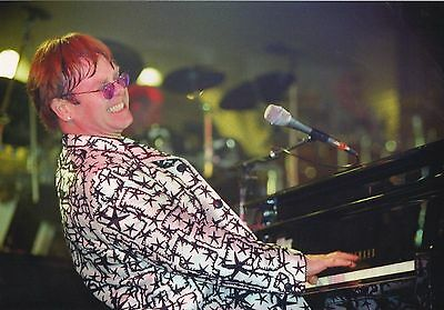 Elton John Photo 1996 Unique Unreleased Image Exclusive 12 Inchs Close Up London