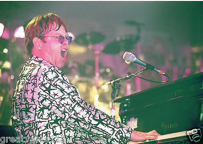 Elton John Photo 1996 Unique Unreleased Image Exclusive 12Inch Close Up Far East
