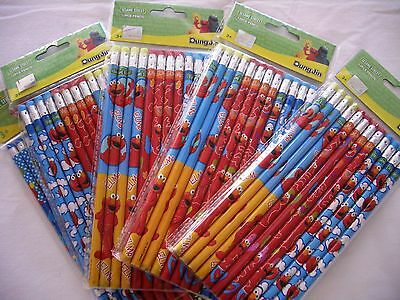 12 pcs Sesame Street Elmo Pencil Party Favor Bag Filler School Stationery Supply