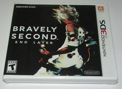 Bravely Second: End Layer for Nintendo 3DS Brand New! Factory Sealed!