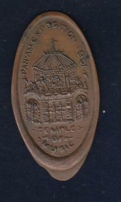 1901 Pan AM Expo, Temple of Music Elongated Cent, Where McKinley was Shot