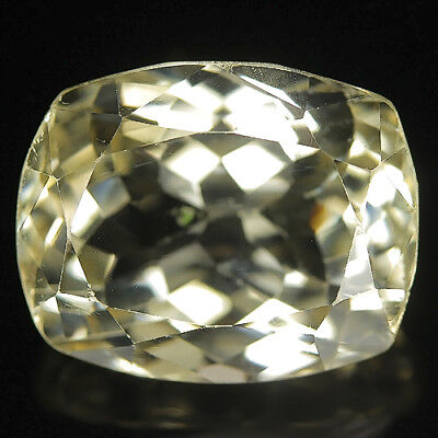 Beauty 26.99 Ct Natural Afghanistan Yellow KUNZITE Octagon Gem @ See Vdo !