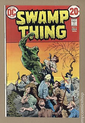 Swamp Thing (1st Series) #5 1973 VF 8.0