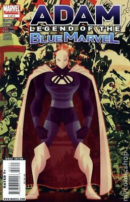 Adam Legend of the Blue Marvel #3 2009 FN+ 6.5 Stock Image