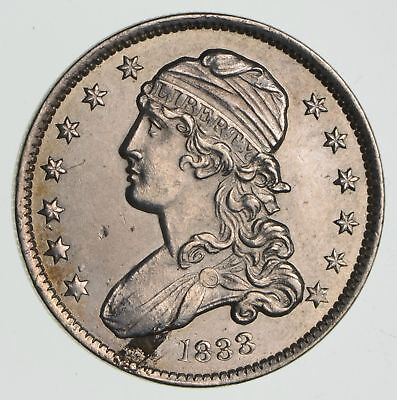 1833 Capped Bust Quarter- Near Uncirculated *2340