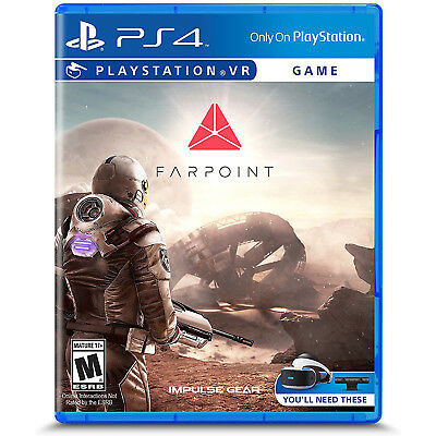 Sony PlayStation 4 Farpoint Video Game