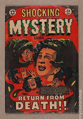 Shocking Mystery Cases #55 1953 GD/VG 3.0